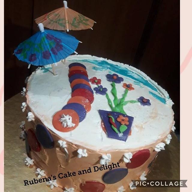 Cake by Rubena Ruby of Rubena's Cake and Delight