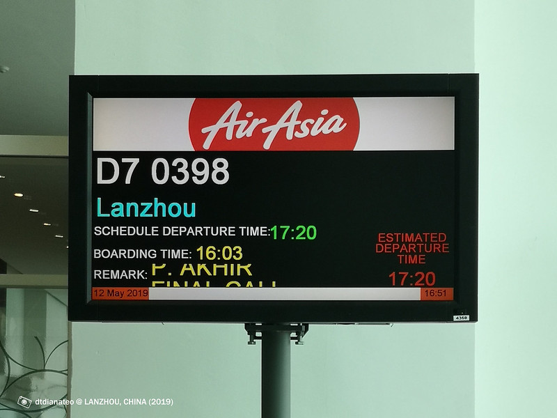 2019 China Lanzhou AirAsia