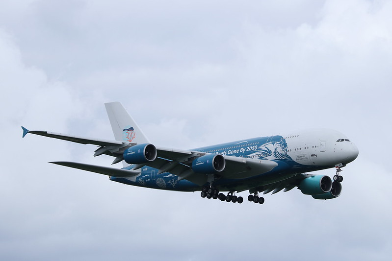 9H-MIP A380 Stansted.