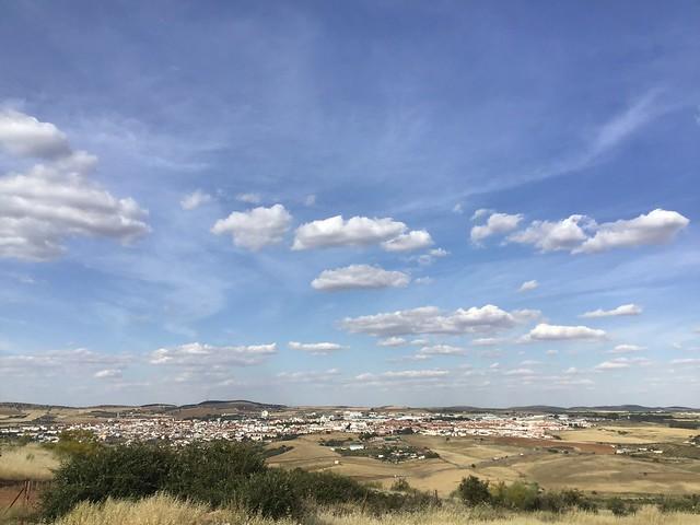 Vista panorámica de Zafra (Badajoz).