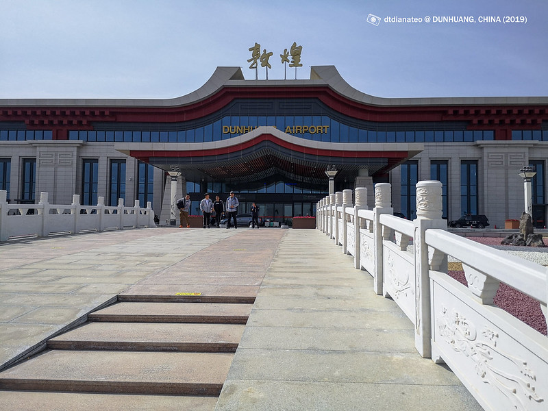 2019 China Dunhuang Airport