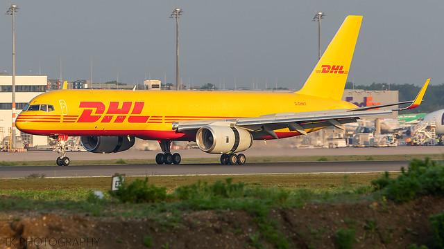 G-DHKT DHL Air Boeing 757-223(PCF)(WL)