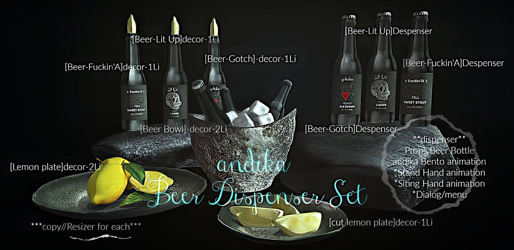 andika[Beer Dispenser Set]AD - TeleportHub.com Live!