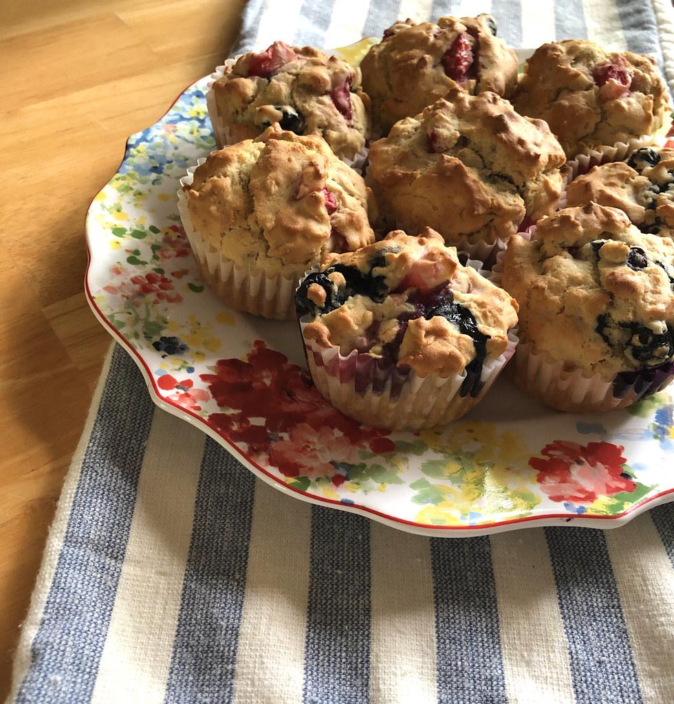 Tutti Fruity Muffin Recipe - Gluten Free