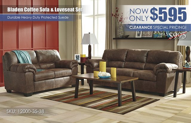 Bladen Coffee Sofa & Loveseat_12000