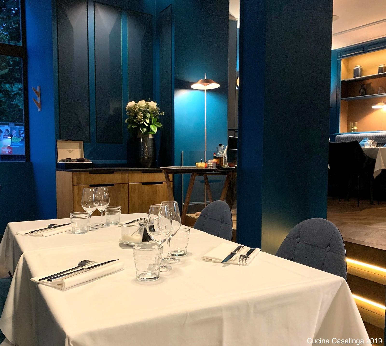Nantes - Restaurant Aristide - Tische