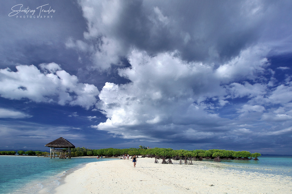clouds over Buntod Reef Marine Sanctuary and Sandbar, Masbate City