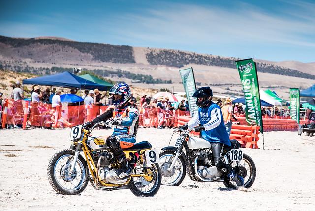 Sellicks Beach Motorcycle Race.