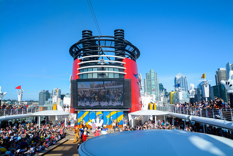 Disney Wonder Sail Away
