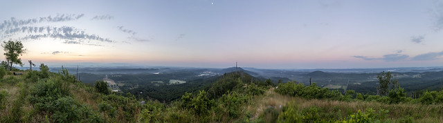 Buzzards Roost panorama, Whitfield County, Georgia