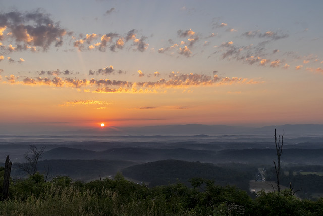 Sunrise, Buzzards Roost, Whitfield County, Georgia 3