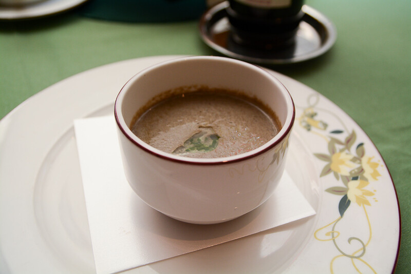 Cream of Wild Forest Mushroom Soup