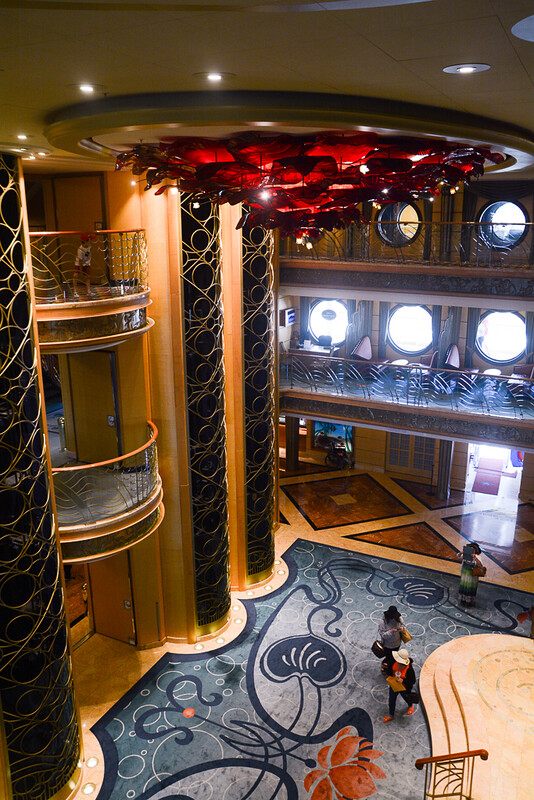 Disney Wonder Atrium