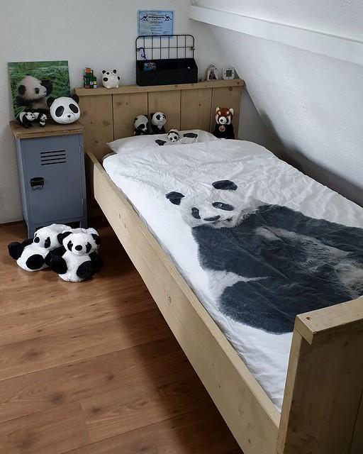 Panda kinderkamer