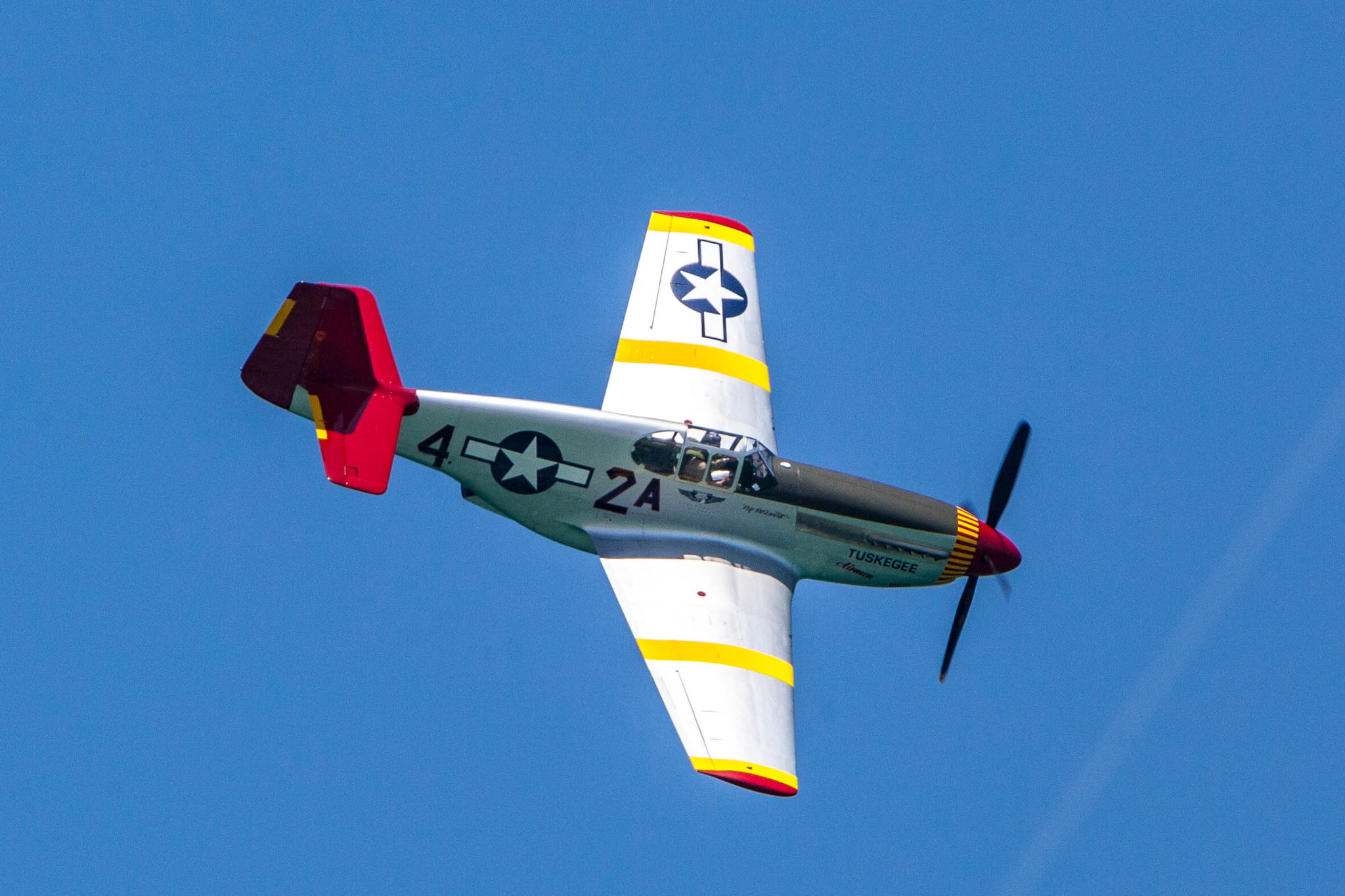 Hyundai Air and Sea Show Miami Beach - RED TAIL SQUADRON – A TRIBUTE TO THE TUSKEGEE AIRMEN