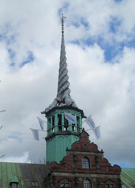 Spire, Børsen, Copenhagen