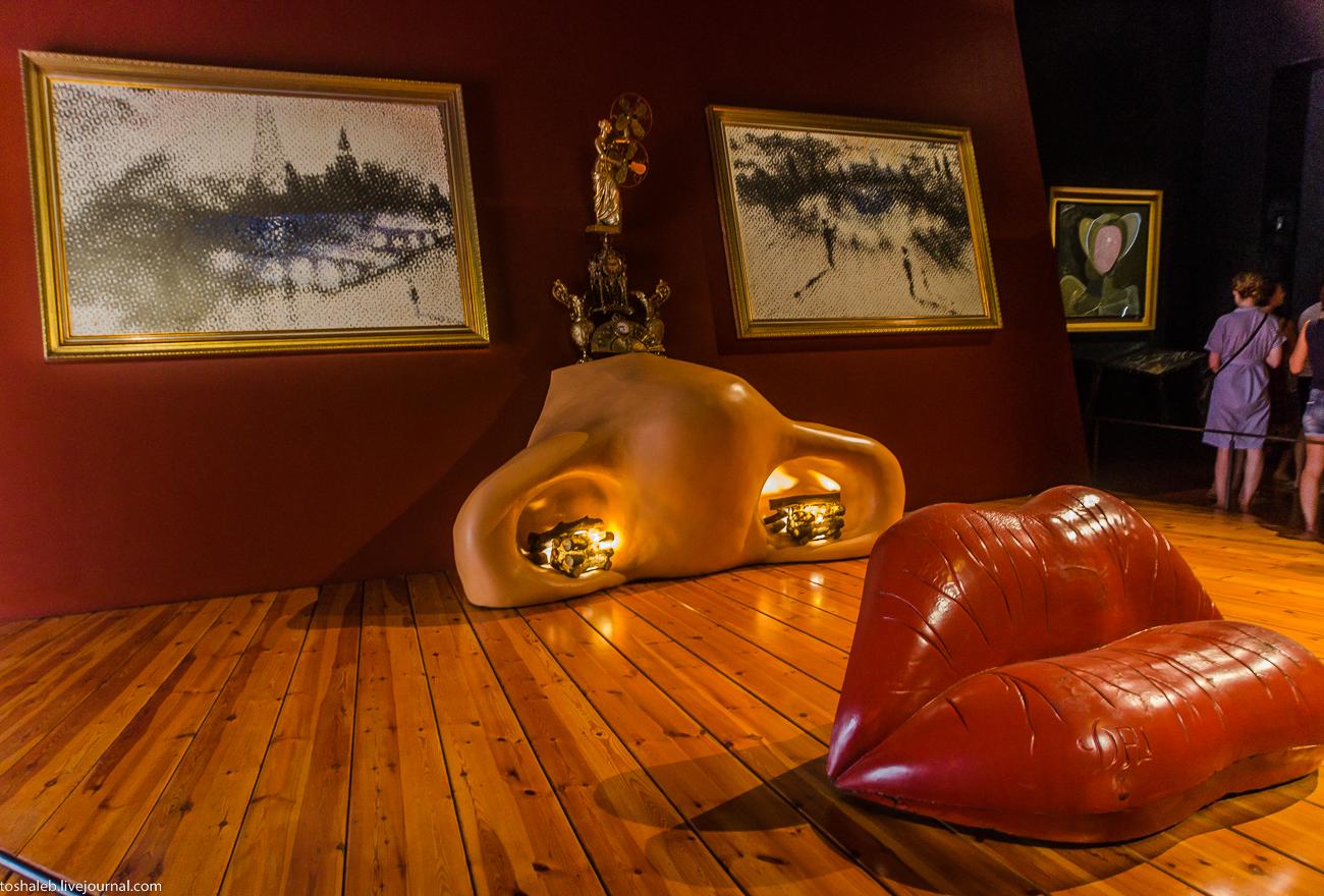Фото губы предметов сальвадора дали