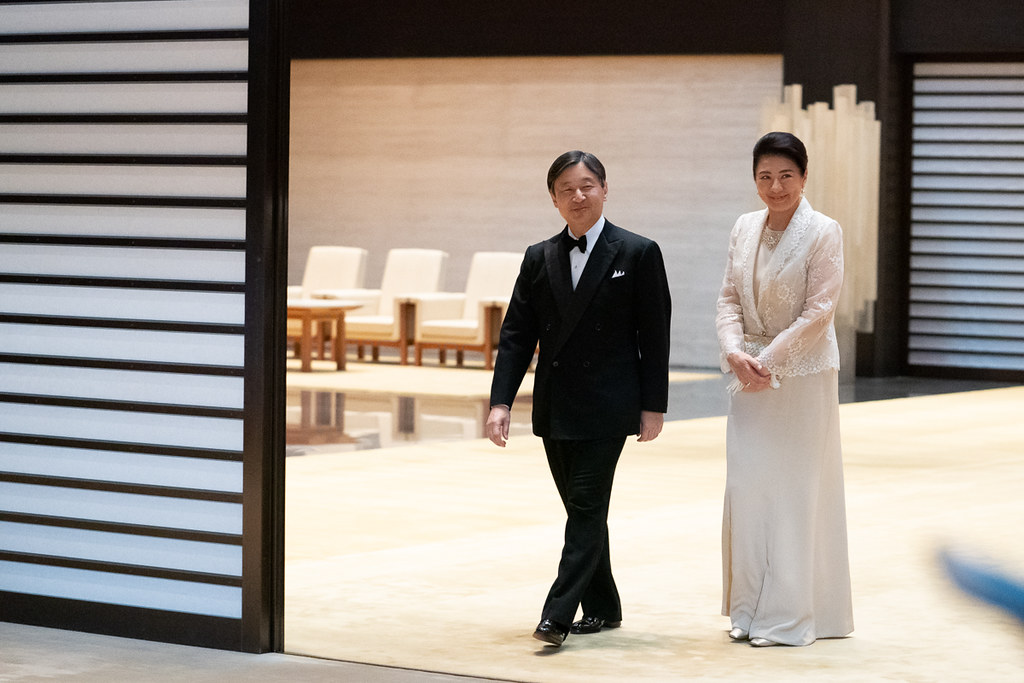 President Trump Attends a State Banquet at the Imperial Palace