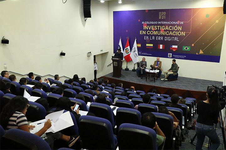 USIL realizó el III Coloquio de Investigación en Comunicación en la Era Digital