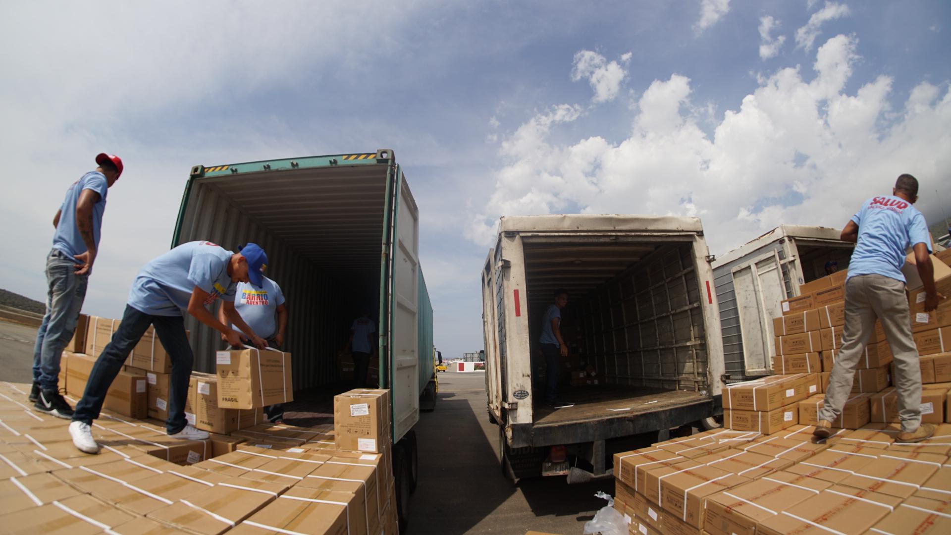 Arriba a Venezuela la cuarta entrega de Asistencia Técnica Humanitaria desde la República Popular de China
