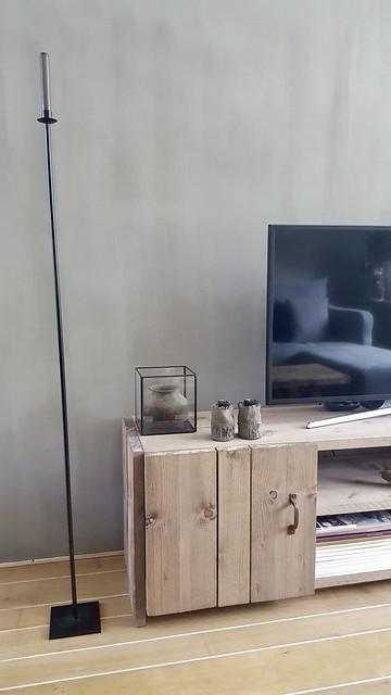 Tv meubel decoratie landelijk