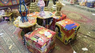Ramadan decorations at El-Sayida Zeinab market   by Kodak Agfa