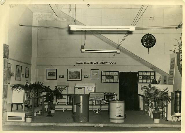 Electricity Department Showroom c1960