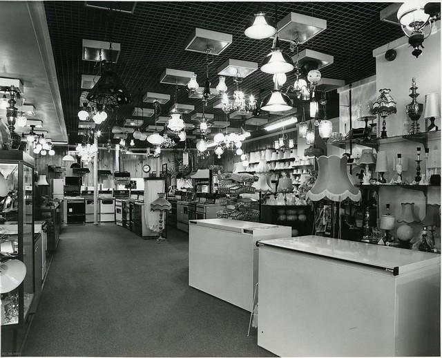 Electricity Department Showroom c 1970