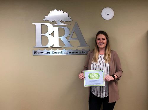 Bluewater Recycling Association LW Certification 2