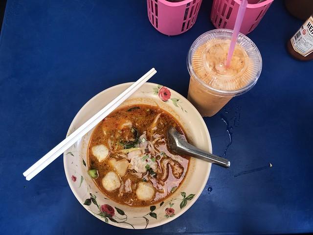 Tom Yum Noodles