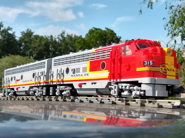 LEGO Santa Fe railway
