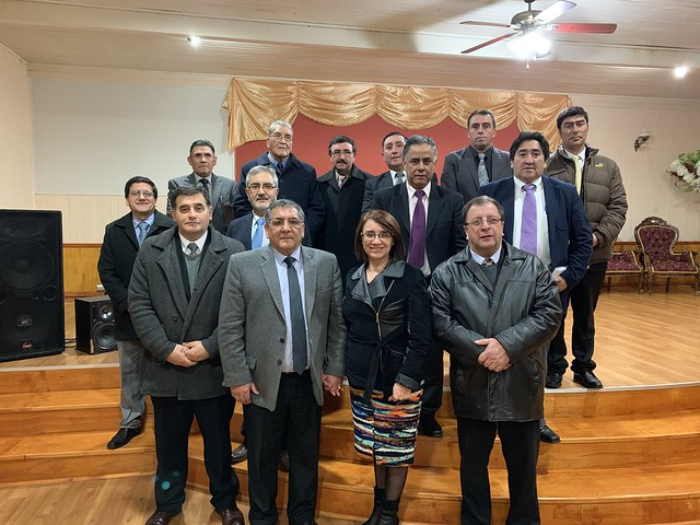 Visita superintendencia Osorno Vicente Reyes