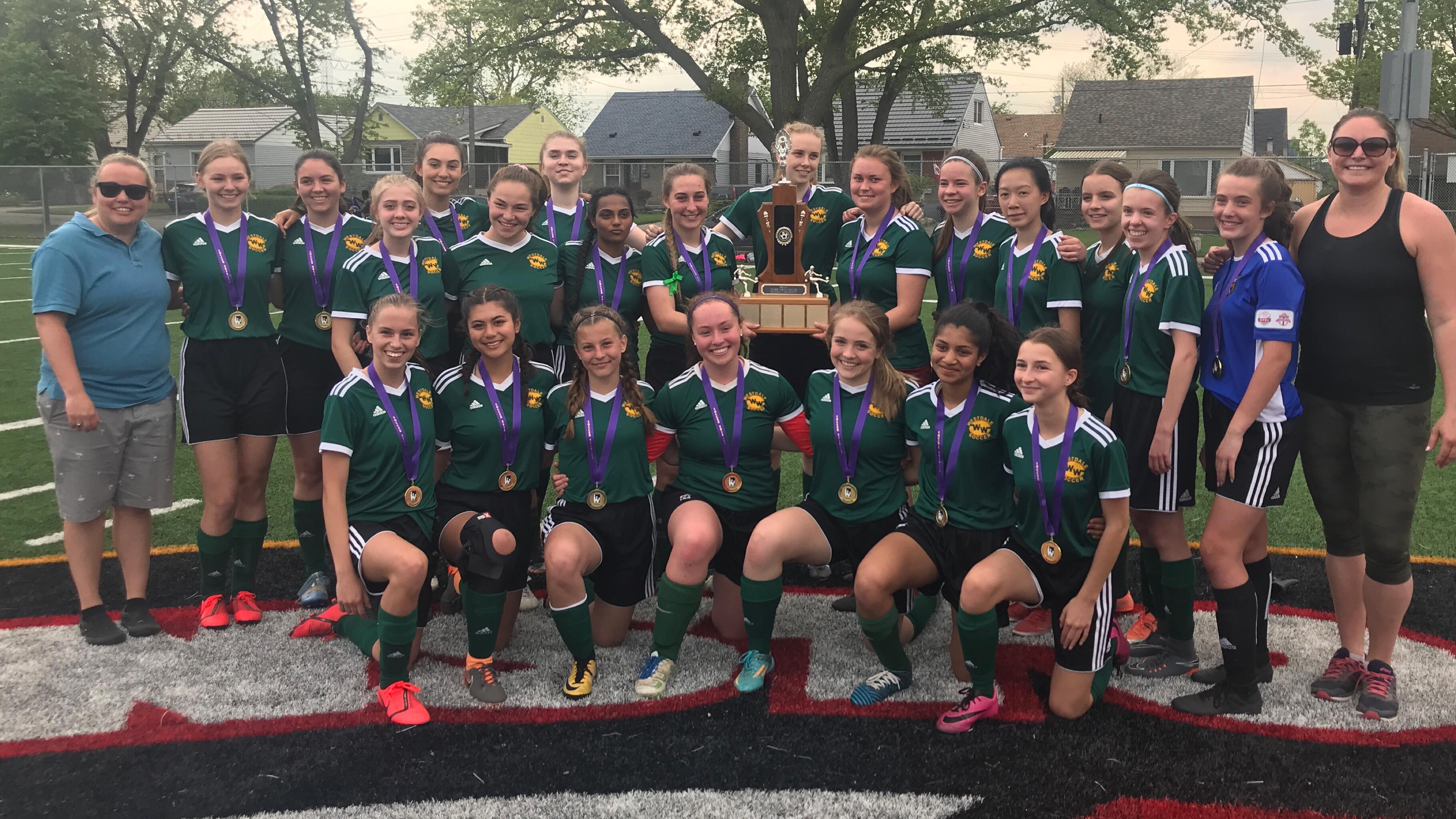 2018-19 Girls Soccer Champions