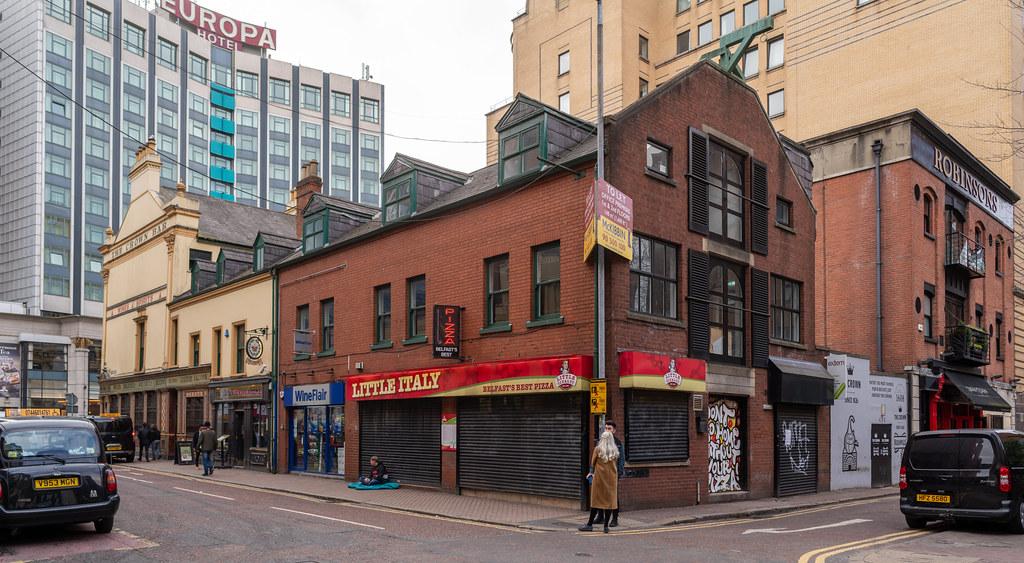 BLACKSTAFF SQUARE BELFAST AMELIA STREET - BRUNSWICK STREET - FRANKLIN STREET 001