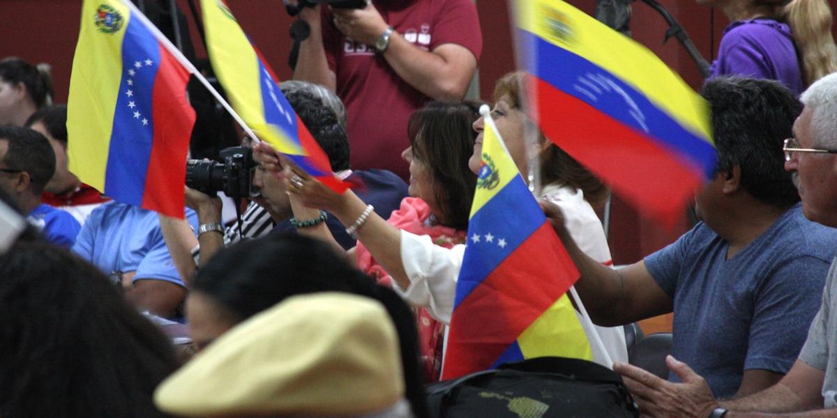 Comunidad estudiantil y pueblo cubano reiteraron solidaridad con la Revolución Bolivariana
