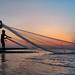 A Sunset with Bakkhali Fishermen