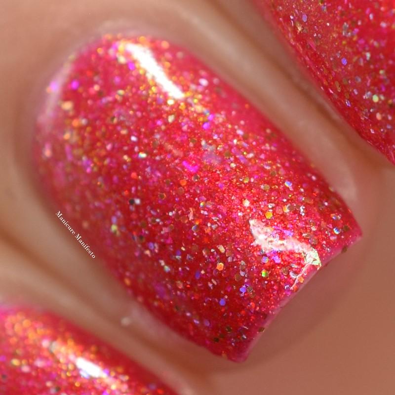 Girly Bits Sparkling Lycopene swatch