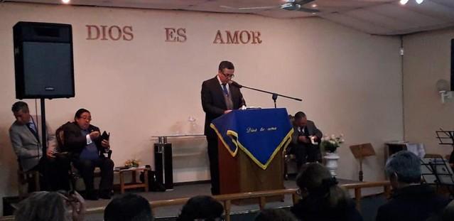 Reunión de pastores sector 5 en IMPCH El  Belloto