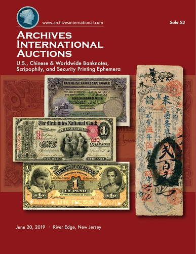 Archives International Sale 53 cover front