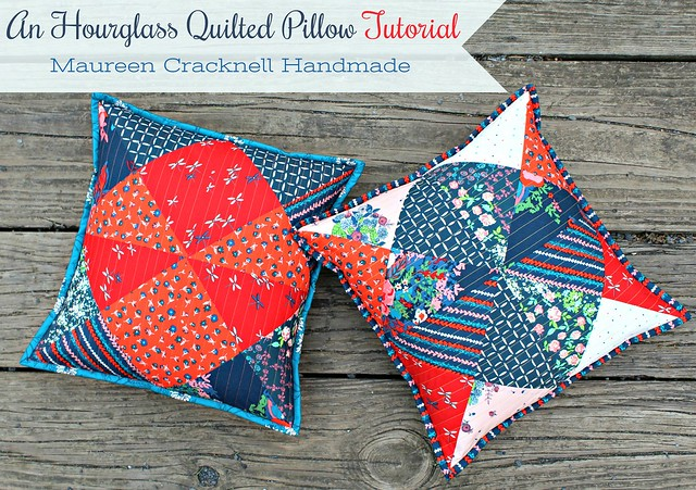 Hourglass Pillow Cover
