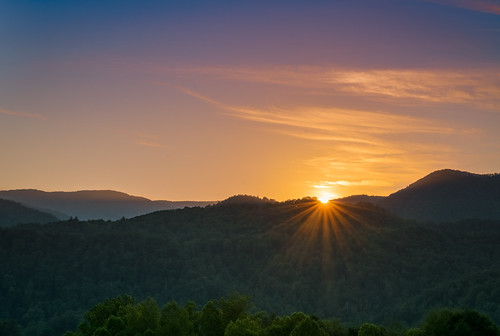 outsiide outdoors nature rural mountains blueridge evening night sony alpha a7rii ilce7rm2 sonyshooter bealpha tamron 2875mm tannessee tn highway interstate hills green sunset dusk sky clouds cherokeenationalforest wilderness wild remote tamron2875