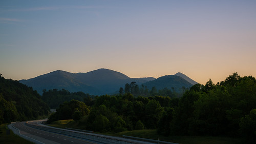 sunset wild sky mountains green nature night clouds rural outdoors evening highway tn dusk sony hills remote interstate wilderness alpha tamron blueridge cherokeenationalforest 2875mm outsiide tannessee sonyshooter bealpha a7rii ilce7rm2 tamron2875