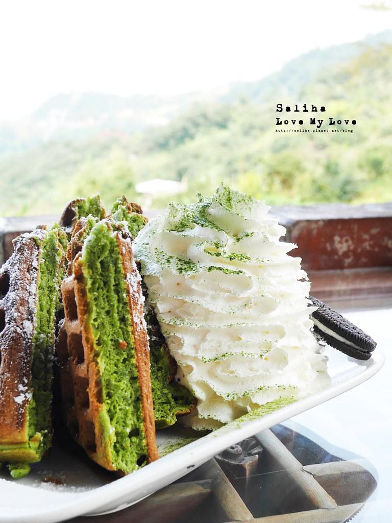 台北文山區貓空景觀餐廳紅木屋咖啡下午茶鬆餅好吃餐點推薦 (4)