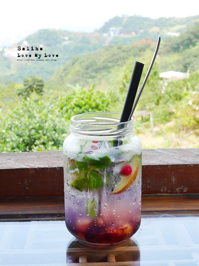 台北文山區貓空景觀餐廳紅木屋咖啡下午茶鬆餅好吃餐點推薦 (2)