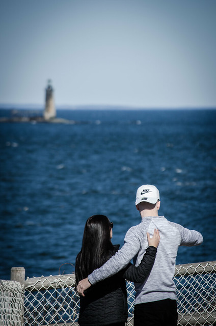 Show me the world! (Maine's Lighthouses #5)
