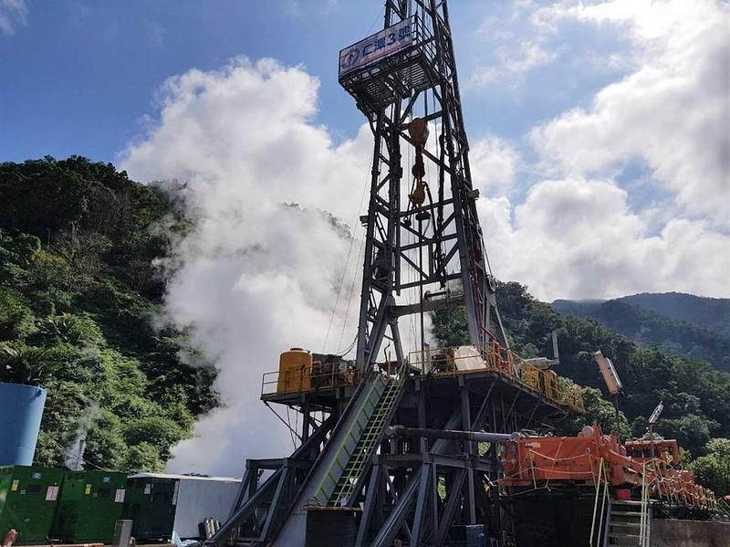 仁澤三號井2018年啟動鑽探。中油提供。