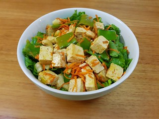 Five-Spice Tofu and Vegetable Salad