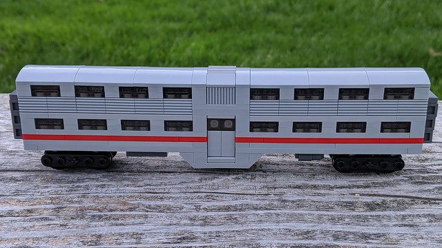 Lego Caltrain Gallery Car