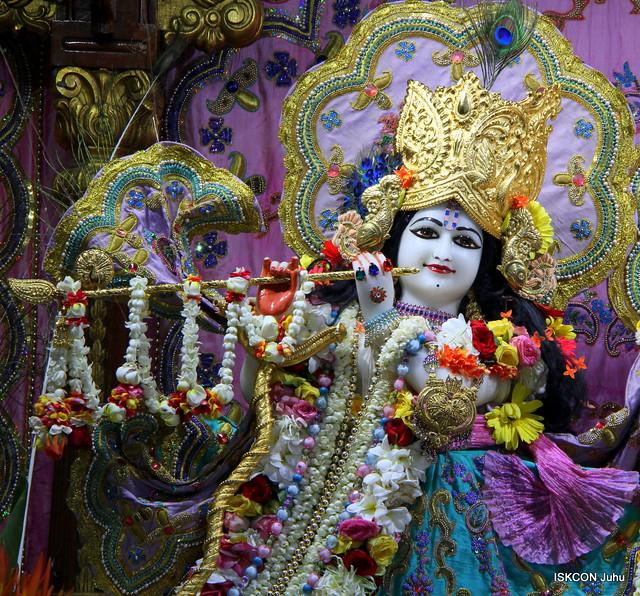 ISKCON Juhu Sringar Deity Darshan on 28th May 2019