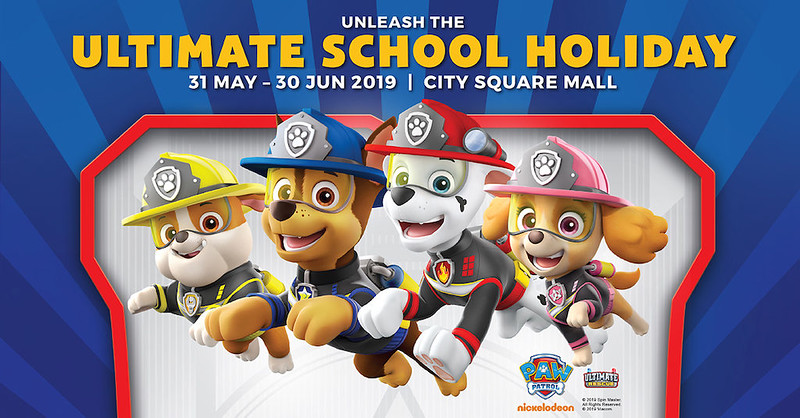 City Sq Mall Paw Patrol, June Holidays 2019